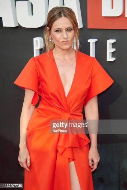 Itziar Ituno attends the 'La Casa de Papel' 3rd season premiere at Callao Cinema in Madrid Spain on Jul 11 2019