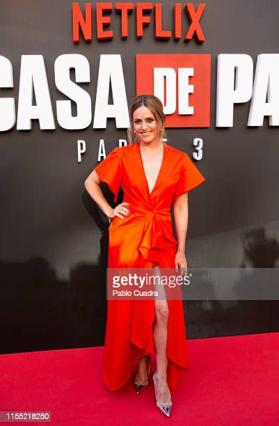 Itziar Ituno attends the red carpet of 'La Casa De Papel' 3rd Season by Netflix on July 11 2019 in Madrid Spain