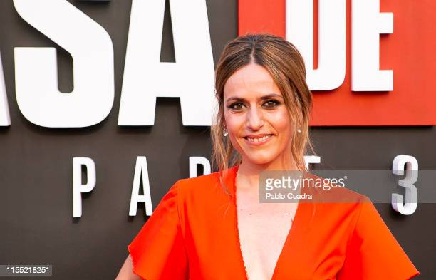 Itziar Ituno attends the red carpet of 'La Casa De Papel' 3rd Season by Netflix on July 11 2019 in Madrid Spain