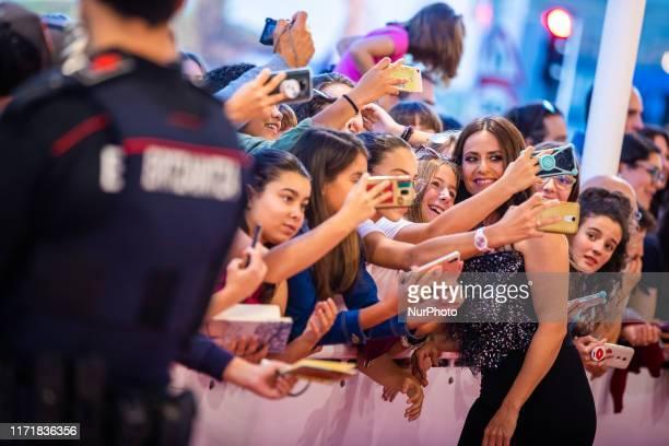 Itziar Ituno attends the red carpet on the closure day of 67th San Sebastian International Film Festival on September 28 2019 in San Sebastian Spain