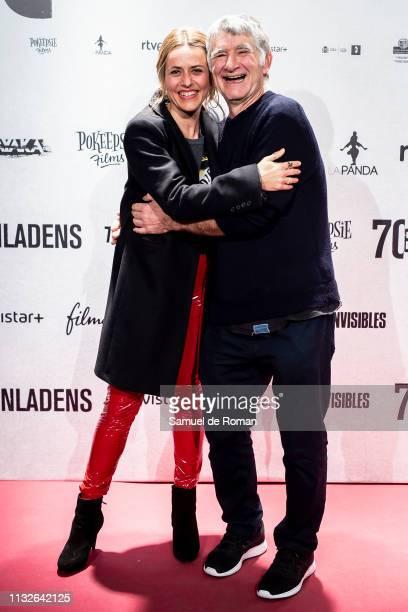 Itziar Ituño and Candido URanga attend '70 Binladens' Madrid Premiere on February 27 2019 in Madrid Spain