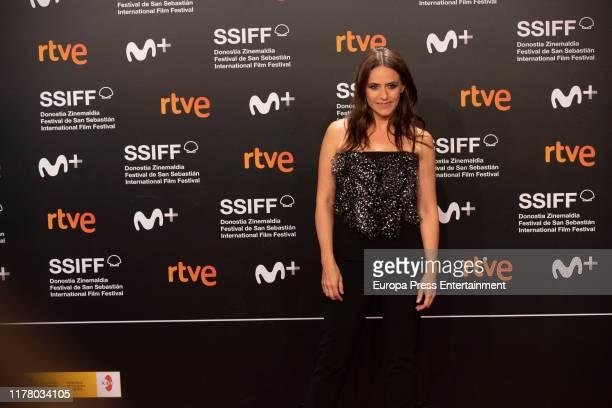 Itziar Ituño attends the red carpet on the closure day of 67th San Sebastian International Film Festival on September 28 2019 in San Sebastian Spain