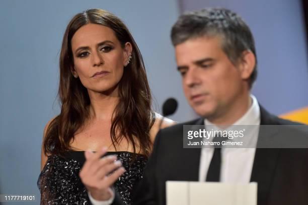 Itziar Ituño during the ceremony on the closure day of 67th San Sebastian International Film Festival on September 28 2019 in San Sebastian Spain