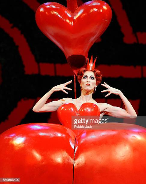 Itziar Mendizabal as The Queen of Hearts in the Royal Ballet's production of Christopher Wheeldon's Alice's Adventures In Wonderland at the Royal...