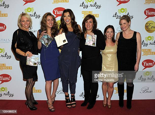 Itzy Ritzy CoCeo Kelly Douglas Joely Fisher Ali Landry Karen Sherman Shane Shaps and Virginia Ferguson attend World Hunger Relief Fundraiser for UN...
