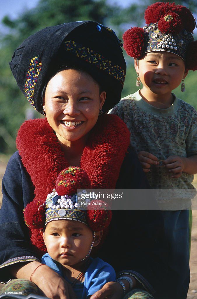 Iu Mien Or Yao Hill Tribe People Northern Thailand High Res Stock Photo Getty Images