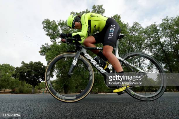 Iurani Blanco Calbet of Spain of Spain and Sopela Womens Team / during the WNT Madrid Challenge by La Vuelta, Stage 1 a 9,3km stage from Boadilla del...