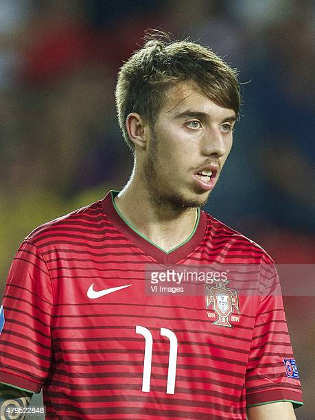 Iuri Medeiros of Portugal during the UEFA European Under21 Championship final match between Sweden and Portugal on June 30 2015 at the Eden stadium...