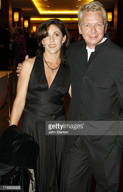 Iva Davies and wife during 2006 APRA Music Awards at Four Seasons Hotel in Sydney NSW Australia