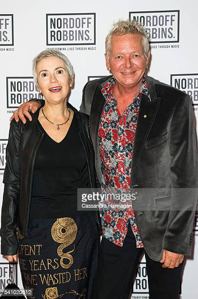 Iva Davies arrives ahead of the Art of Music 2016 at Art Gallery Of NSW on June 18 2016 in Sydney Australia