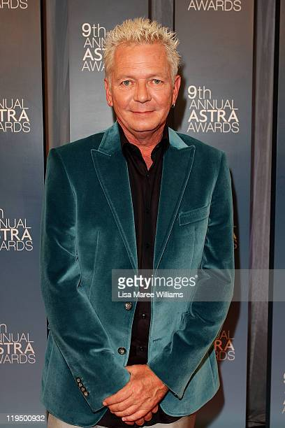 Iva Davies arrives at the 9th Annual Astra Awards on July 21 2011 in Sydney Australia