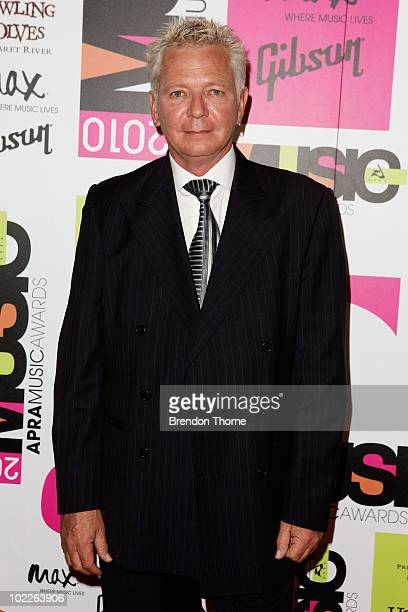 Iva Davies arrives at the Australasian Performing Rights Association Music Awards at the Sydney Convention Exhibition Centre on June 21 2010 in...