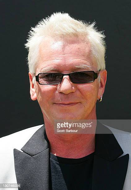 Iva Davies attends Victoria Derby Day at Flemington Racecourse on October 29, 2011 in Melbourne, Australia.
