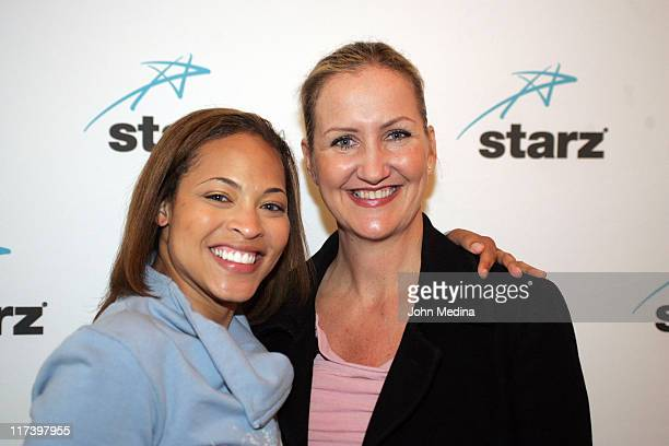 Iva La'Shawn and Paula Bell during Martin Lawrence Presents The 1st Amendment StandUp Comedy Show for Starz at The Improv in San Jose California...