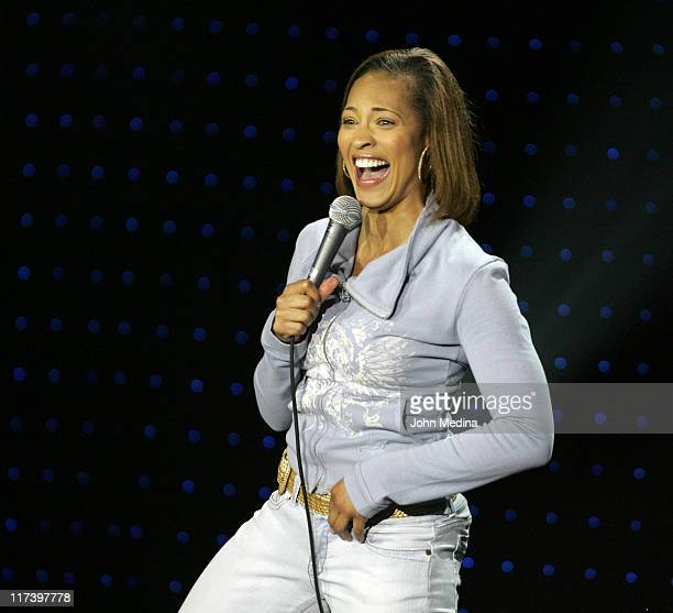 Iva La'Shawn during Martin Lawrence Presents The 1st Amendment StandUp Comedy Show for Starz at The Improv in San Jose California United States