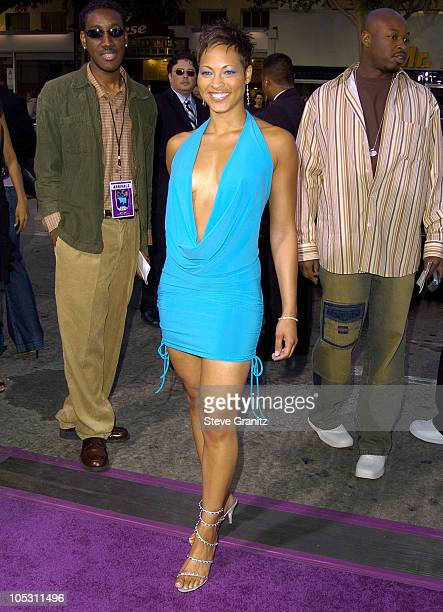Iva La'shawn during Soul Plane Los Angeles Premiere at Mann Village Theatre in Westwood California United States