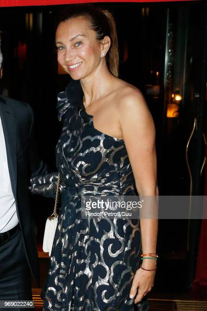 Iva Majoli attends Diner des Legendes at Le Fouquet's on June 6 2018 in Paris France