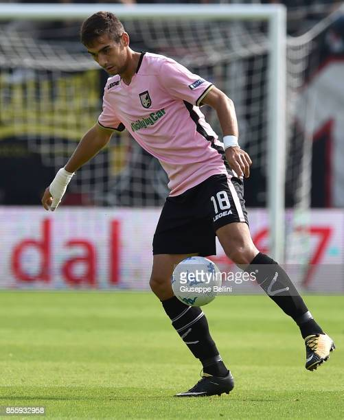 Ivajlo Cocev of US Citta' di Palermo in action during the Serie B match between Ascoli Calcio and US Citta di Palermo at Stadio Cino e Lillo Del Duca...