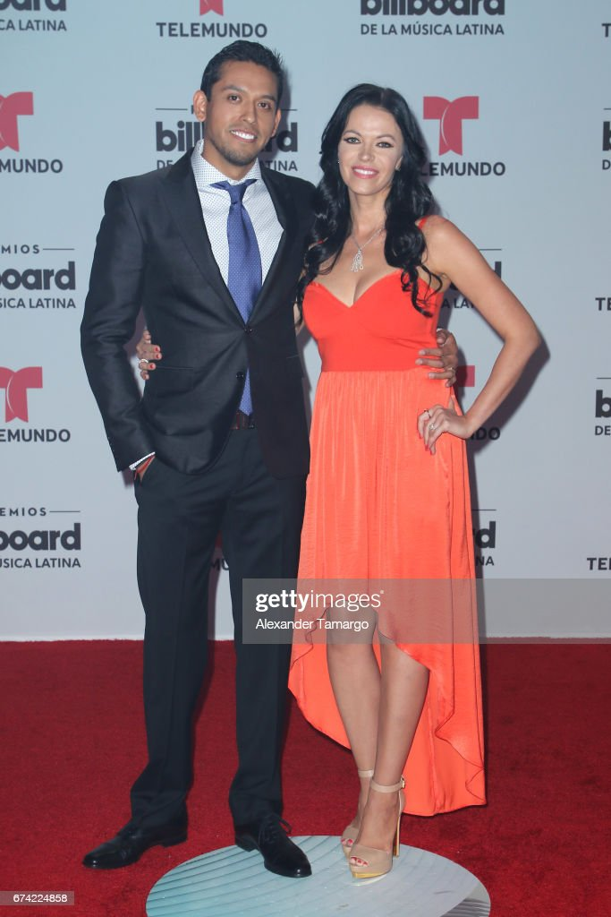 Ivan and Simona Aguilera attend the Billboard Latin Music Awards at Watsco Center on April 27, 2017 in Coral Gables, Florida.