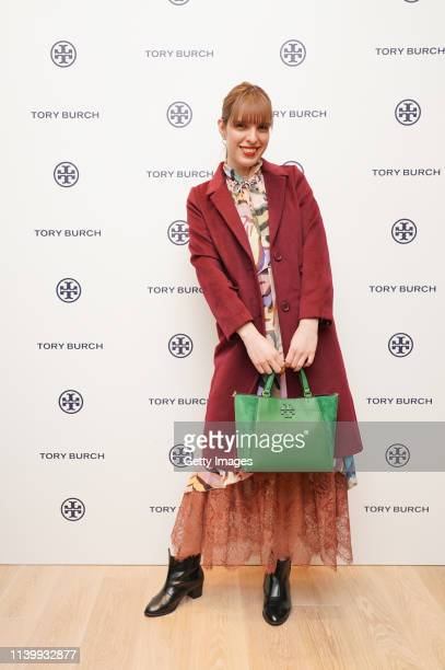 Ivan attends the Tory Burch Ginza Boutique Opening on April 02 2019 in Tokyo Japan
