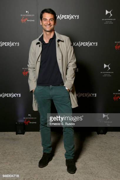 Ivan Bacchi attends Racing Goes Green an event organized by Kaspersky Lab Official Sponsor of DS Virgin Racing Team to celebrate the Formula E race...