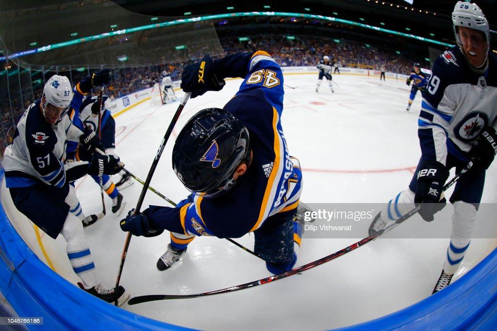 Winnipeg Jets v St. Louis Blues : News Photo