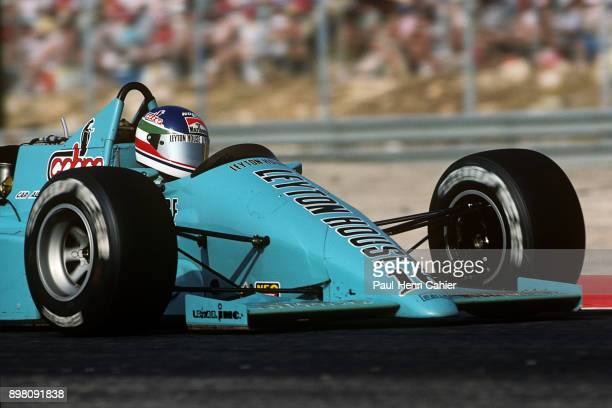 Ivan Capelli MarchFord 871 Grand Prix of France Circuit Paul Ricard 05 July 1987