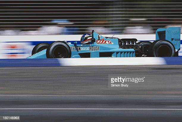 Ivan Capelli of Italy drives the Leyton House March Racing Team March 871 Ford Cosworth DFZ V8 during the Foster's Australian Grand Prix on 15th...