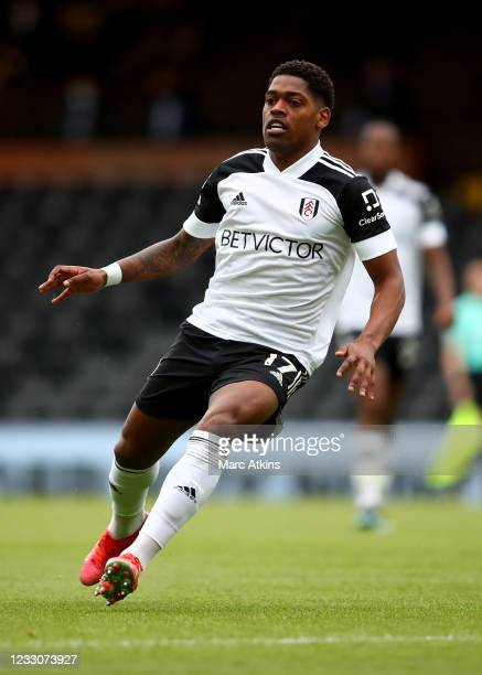 Ivan Cavaleiro of Fulham during the Premier League match between Fulham and Newcastle United at Craven Cottage on May 23, 2021 in London, United...