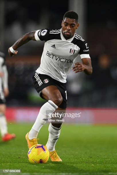 Ivan Cavaleiro of Fulham in action during the Premier League match between Fulham and Brighton & Hove Albion at Craven Cottage on December 16, 2020...