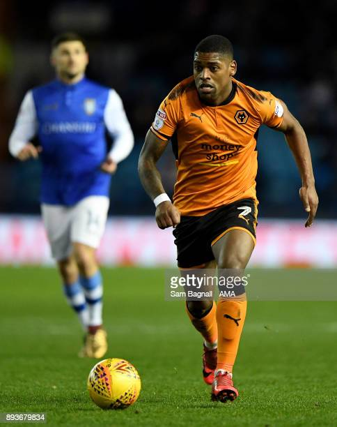 Ivan Cavaleiro of Wolverhampton Wanderers during the Sky Bet Championship match between Sheffield Wednesday and Wolverhampton at Hillsborough on...