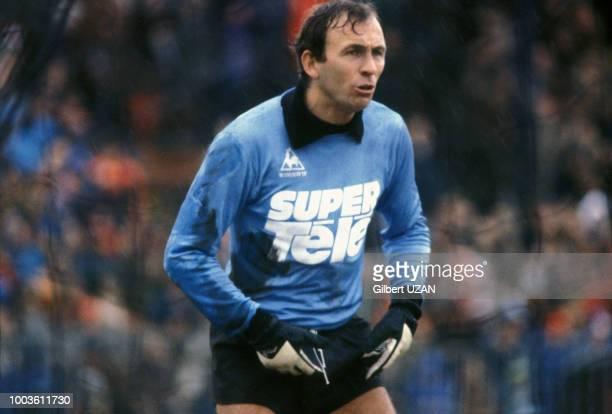 Ivan Curkovic gardien de but de l'équipe de SaintEtienne en 1978 France