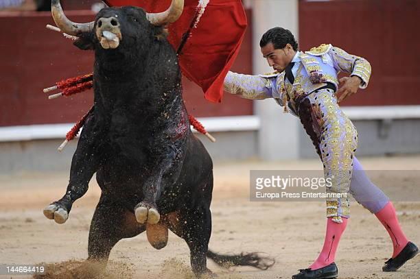 Ivan Fandino performs during San Isidro Bullfight 2012 Fair on May 16 2012 in Madrid Spain