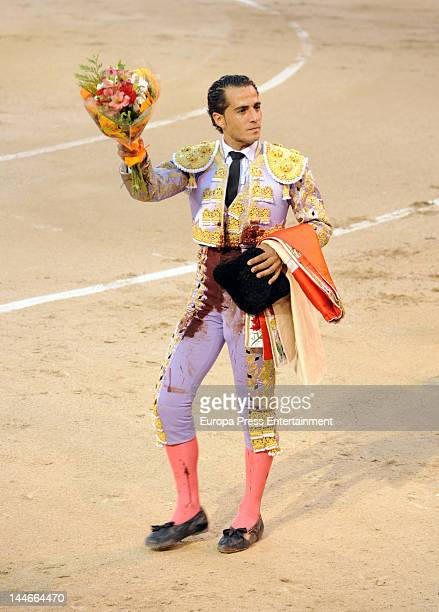 Ivan Fandino performs during San Isidro Bullfight 2012 Fair on May 16 2012 in Madrid Spain
