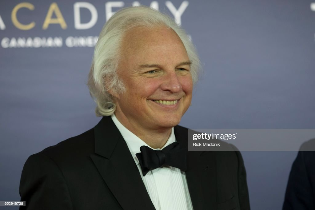 Ivan Fecan. Canadian Screen Awards red carpet at Sony Centre for the Performing Arts ahead of the show.