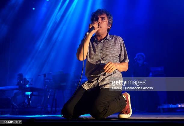 Ivan Ferreriro performs on stage at Jardines de Viveros on July 13 2018 in Valencia Spain