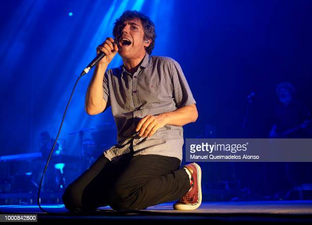 Ivan Ferreriro performs on stage at Jardines de Viveros on July 13 2018 in Valencia Spain