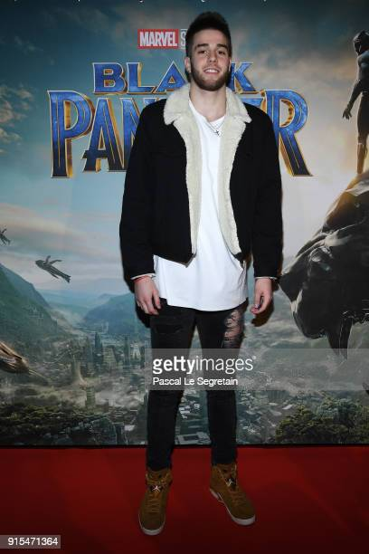 Ivan Feurier attends the Black Panther Paris Special Screening at Le Grand Rex on February 7 2018 in Paris France