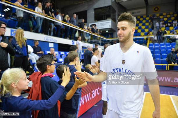 Ivan Fevrier of Levallois during the Pro A match between Levallois and Monaco on September 23 2017 in LevalloisPerret France