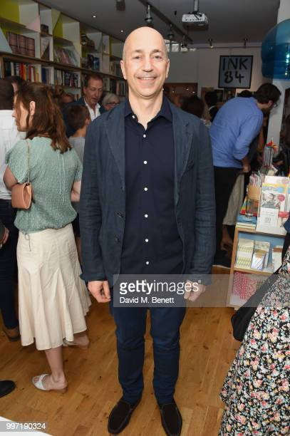 Ivan Gazidis attends the launch of new book 'Ctrl Alt Delete' by Tom Baldwin at Ink 84 on July 12 2018 in London England