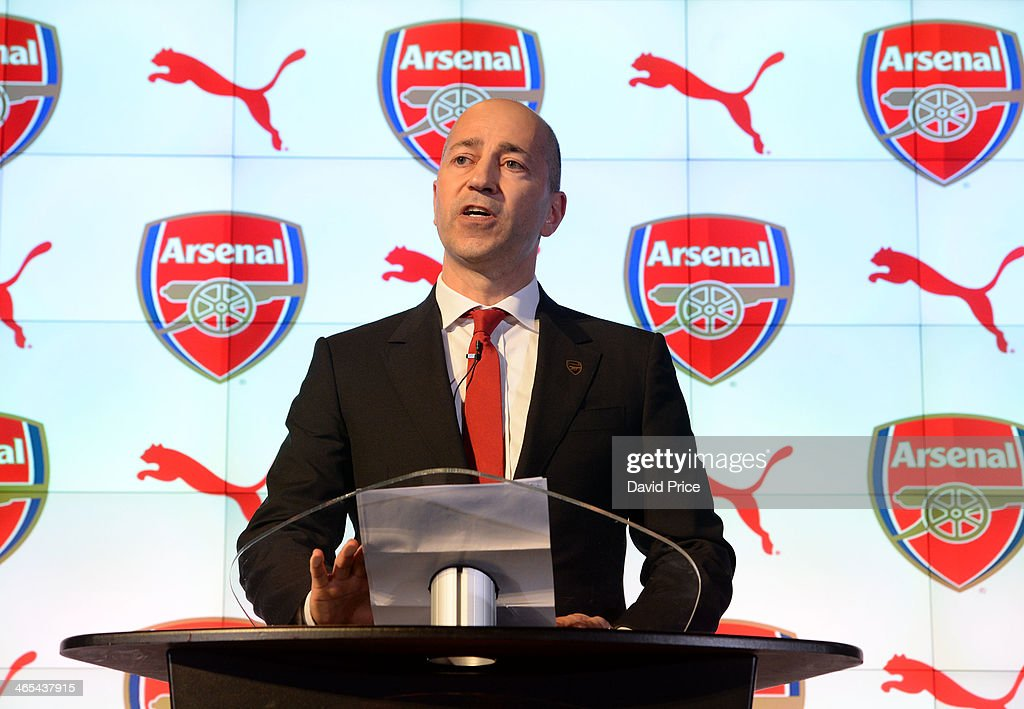 Arsenal announce new sponsorship with Puma : News Photo