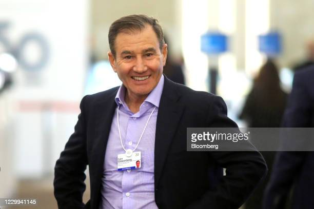 Ivan Glasenberg, billionaire and chief executive officer of Glencore International Plc, between sessions on the opening day of the World Economic...