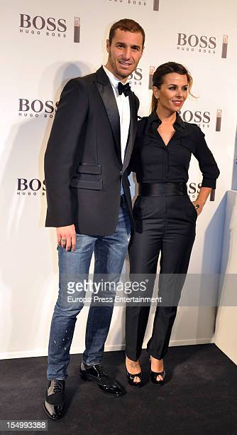 Ivan Helguera and Lorena Casado attend the launch of 'Boss Nuit Pour Femme' fragrance on October 29, 2012 in Madrid, Spain.