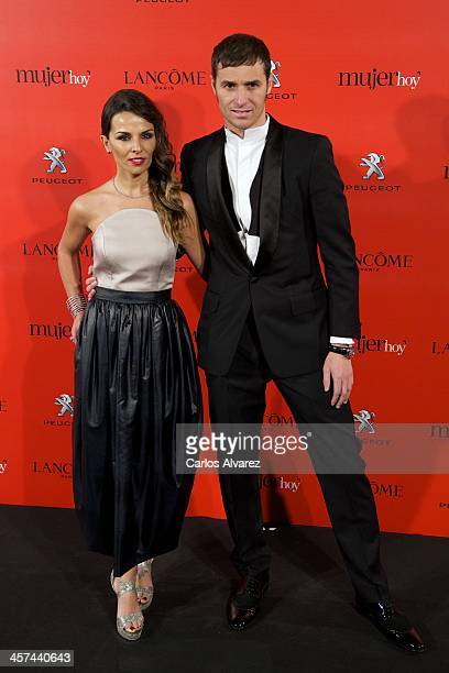 Ivan Helguera and Lorena Casado attend the 'Mujer de Hoy' awards 2013 at the Hotel Palace on December 17 2013 in Madrid Spain