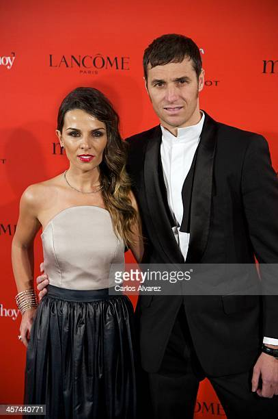 """Ivan Helguera and Lorena Casado attend the """"Mujer de Hoy"""" awards 2013 at the Hotel Palace on December 17, 2013 in Madrid, Spain."""