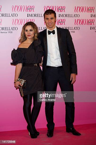 Ivan Helguera and Lorena Casado attend Woman Magazine Awards 2012 at French Embassy on March 22, 2012 in Madrid, Spain.
