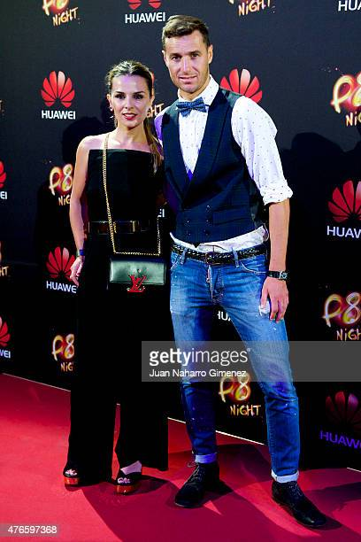 Ivan Helguera attends the Huawei P8 presentation party at Bodevil theatre on June 10, 2015 in Madrid, Spain.