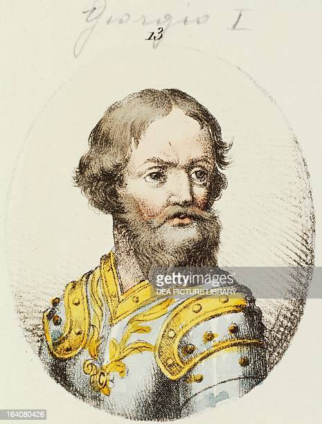 Ivan III Vasilevich known as Ivan the Great Grand Prince of Moscow engraving Russia
