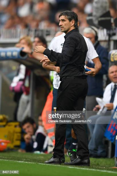 Ivan Juric during the Serie A match between Genoa CFC and Juventus at Stadio Luigi Ferraris on August 26 2017 in Genoa Italy