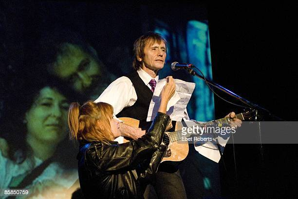 Ivan Kral and Annie Golden perform at the Hilly Krystal Memorial at the Bowery Ballroom in NYC October 15 2007